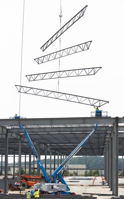 Kite Pharma construction Urbana