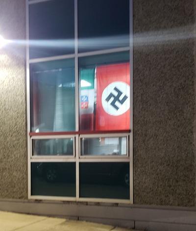 Nazi flag - TJ High