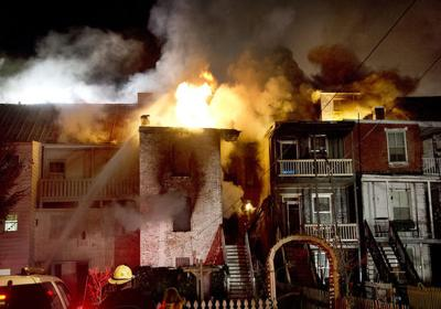 South Market Street fire
