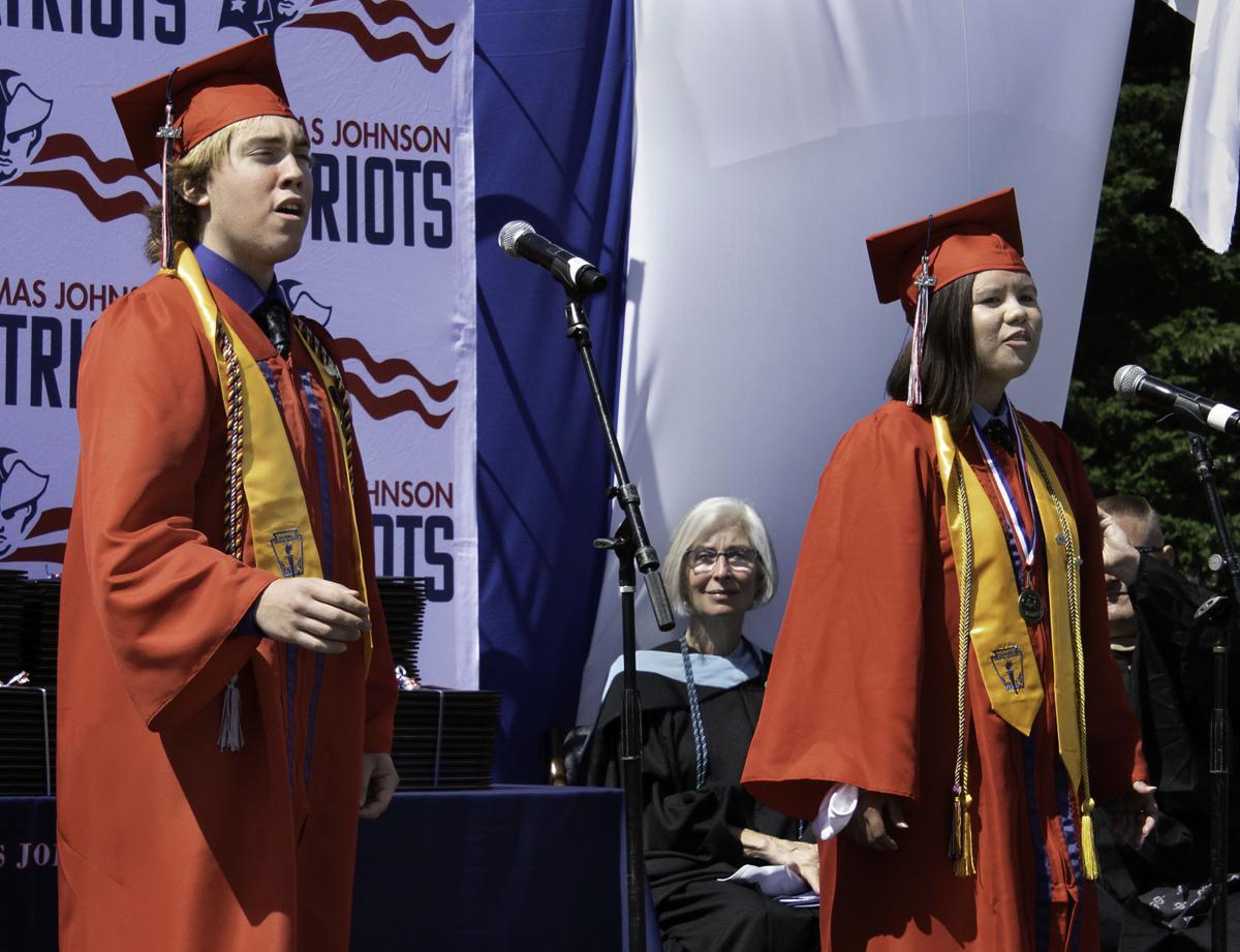 TJHS 2021 graduation