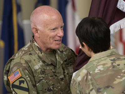 USAMRIID Change of Command