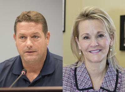 Kirby Delauter and Kathy Afzali