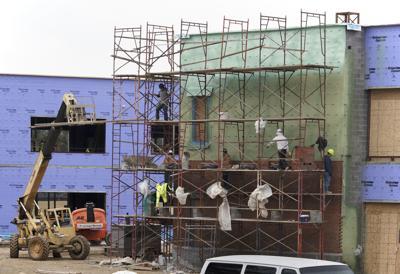 Urbana Elementary construction