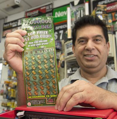 Middletown woman wins $2 million in Maryland Lottery scratch