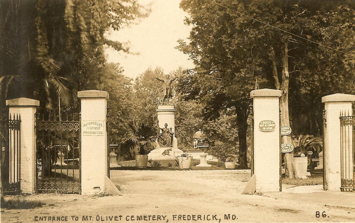 Mt Olivet Gate 1909