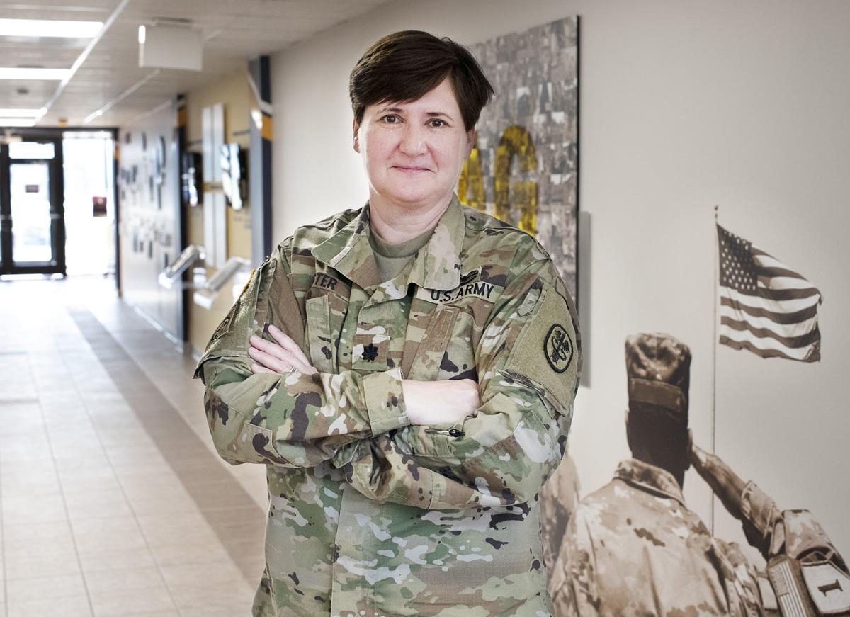 Women in the military - LTC Birgit Lister