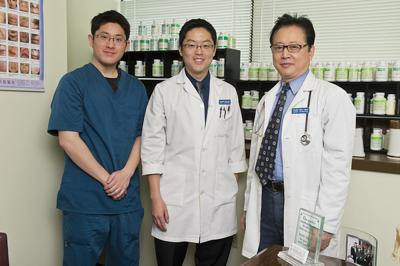 Sons join father at Acupuncture Center of Frederick