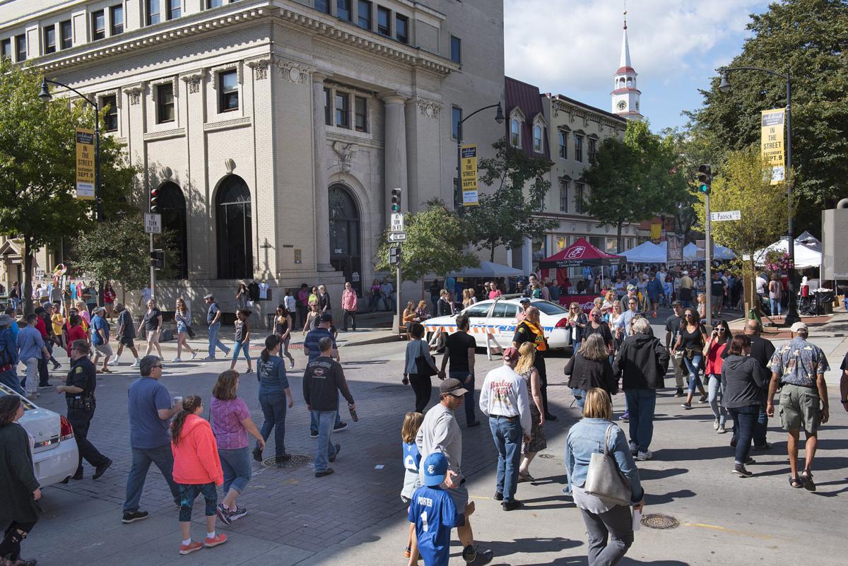 In the Street-Square Corner