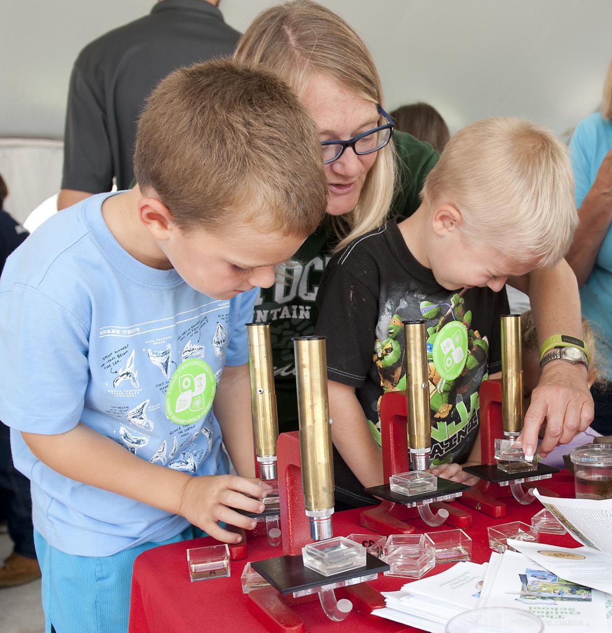 STEM Showcase at Fair