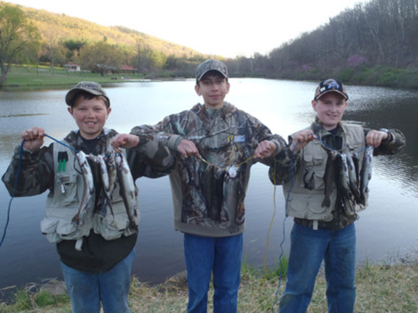Spring trout season travel and outdoors for Trout fishing maryland