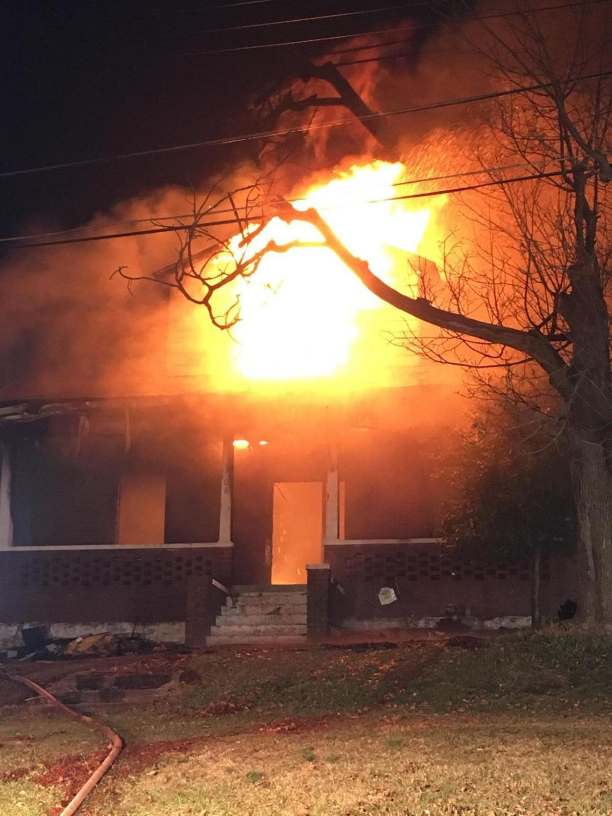Three displaced after Mount Airy fire destroys house | Disasters