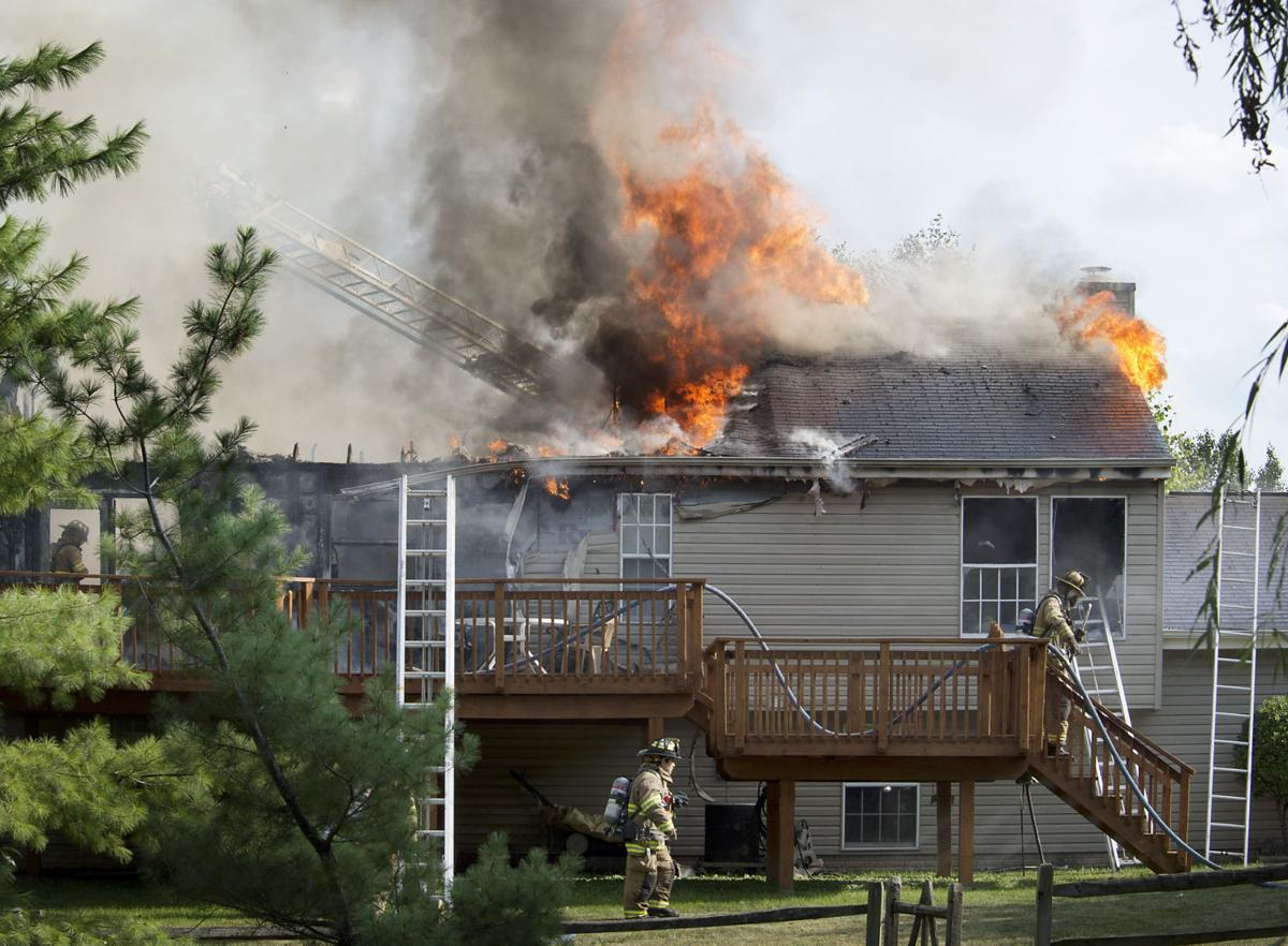 Frederick house fire displaces four no injuries reported for Fredrick house