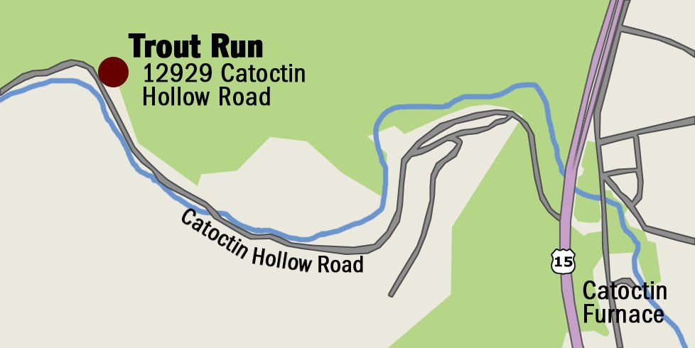 Trout Run map