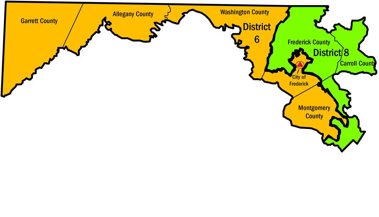 Push For Redistricting Reform Comes In Different Packages In Maryland | Annapolis 2017 ...