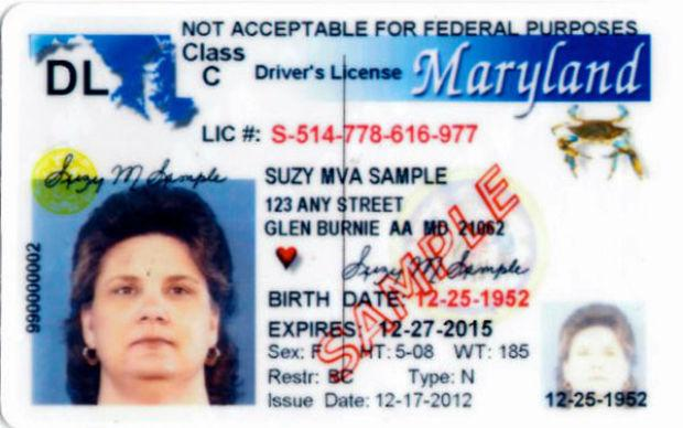Maryland Driver's License Illegally Immigrants Start Fredericknewspost com In s U Process