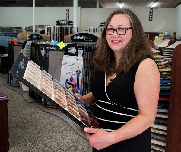Brunswick Woman Starts Over In Flooring Business