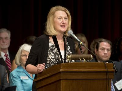 FCC President Elizabeth Burmaster Investiture (copy)