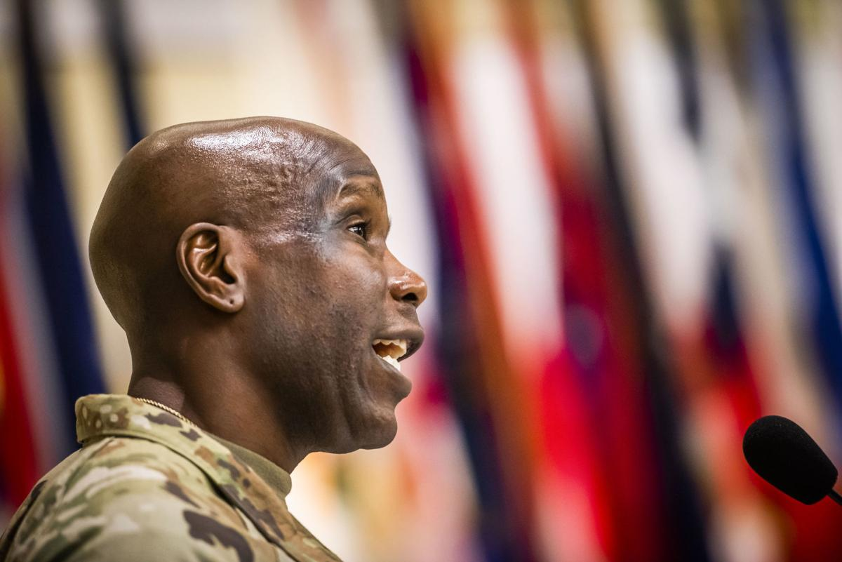 Change of Command at Fort Detrick