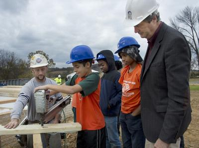 New program introduces Boys & Girls Club members to building trades
