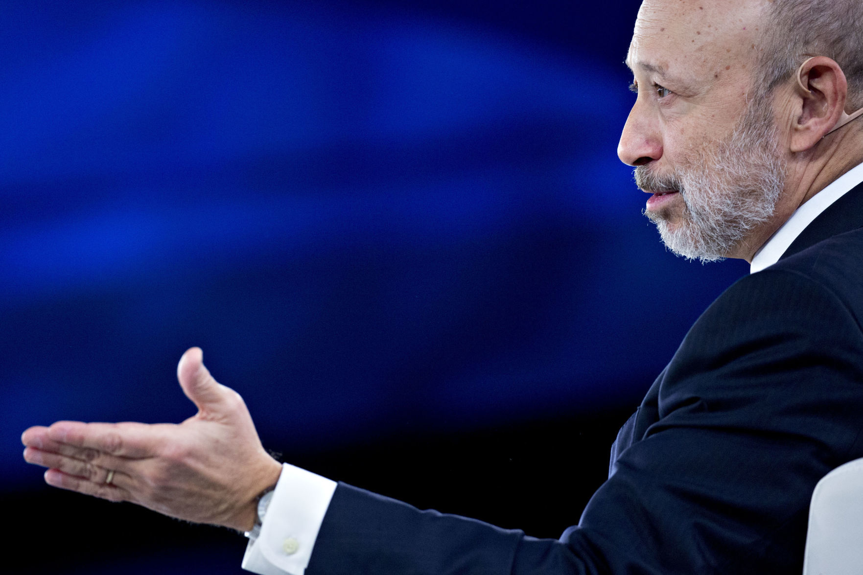 Blankfein son wedding anniversary