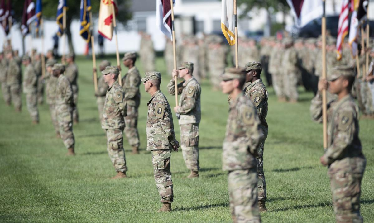 USAMRDC Change of Command