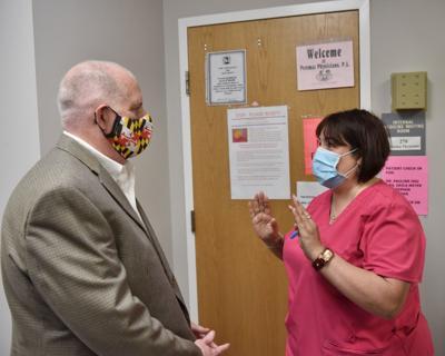 Hogan at Menocal's office
