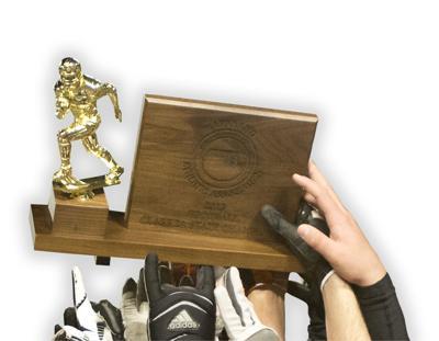 MPSSAA football trophy