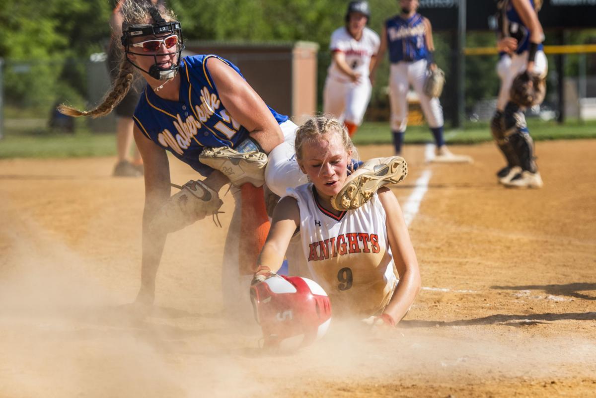 Walkersville vs. Middletown softball quarterfinal