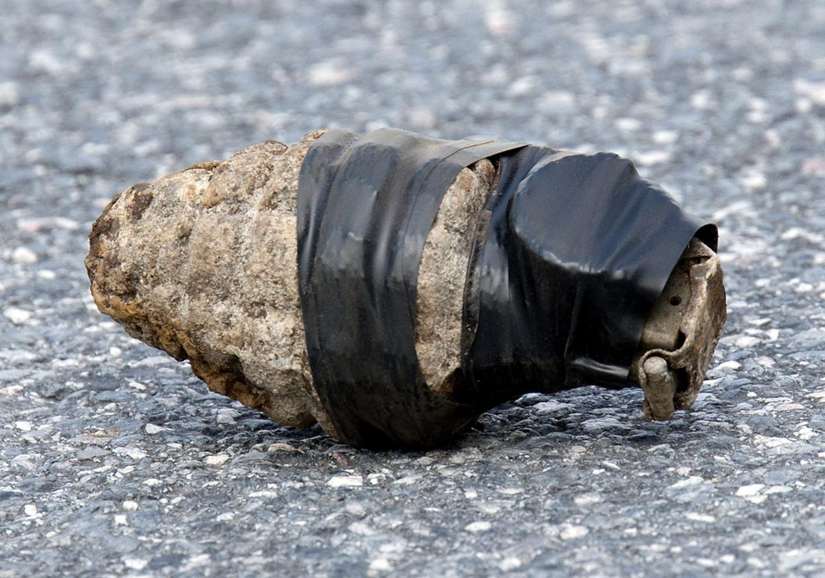 Thurmont hand grenade