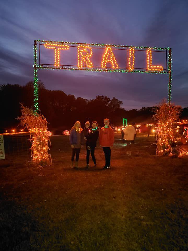 Trail of Jack O Lanterns