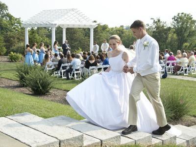 Marine, wife enjoy dream wedding they missed two years ago