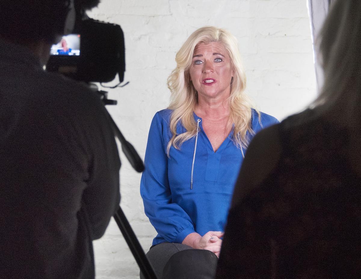 Pam Knight former drug addict