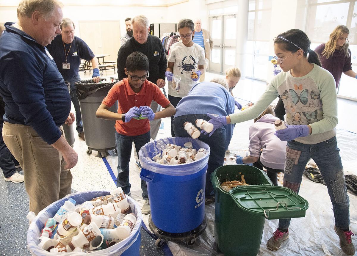 Composting at Sugarloaf ES 3