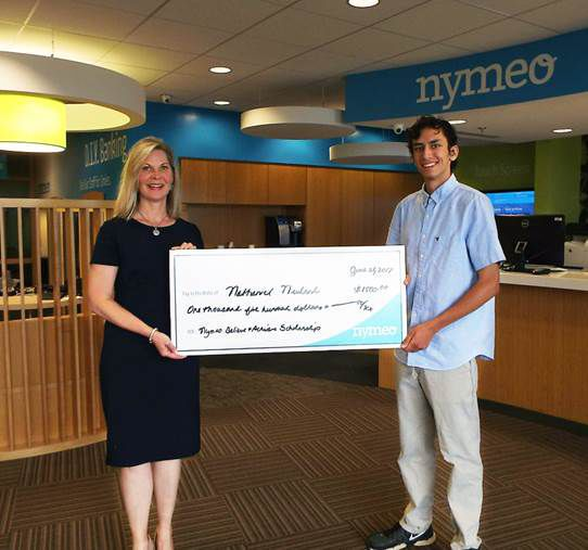 Receives Nymeo scholarship