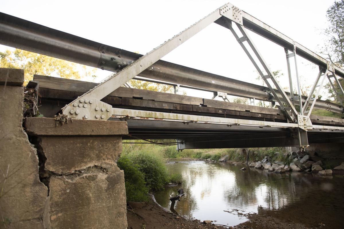 Reichs Ford bridge work