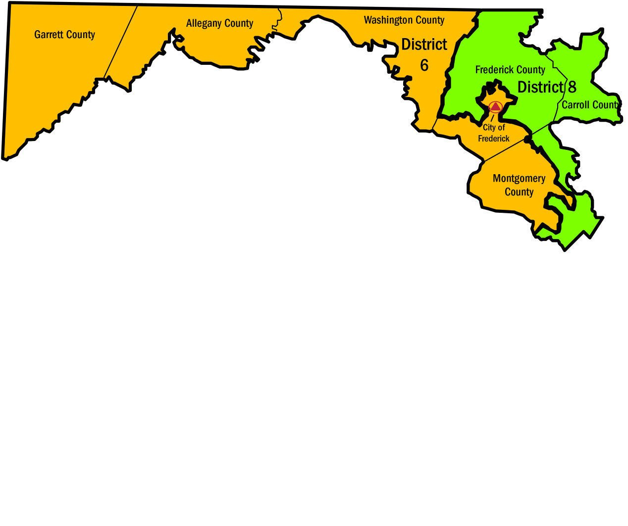 maryland 6th congressional district polls - HD1268×1063