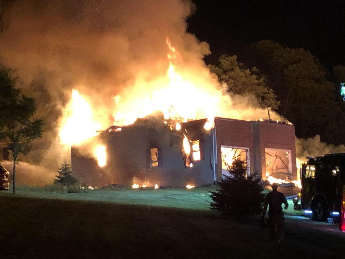 Sabillasville house fire