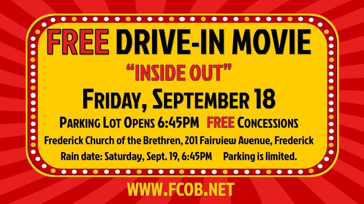 Frederick Church of the Brethren Hosts FREE Drive-In Movie