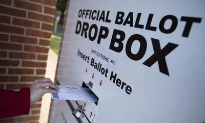 Mail-In Ballot Drop Box