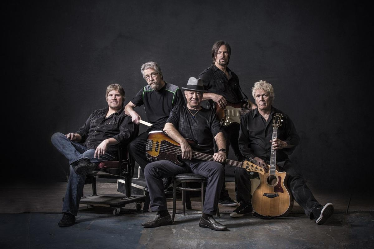 Creedence Clearwater Revisited performing at Great Frederick Fair during final tour