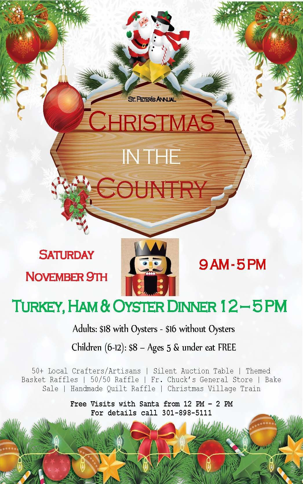 Christmas in the Country - Holiday Art and Craft Festival