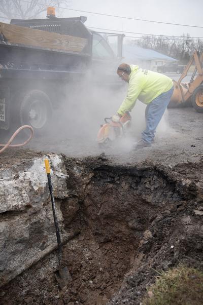 Emmitsburg Water Leak