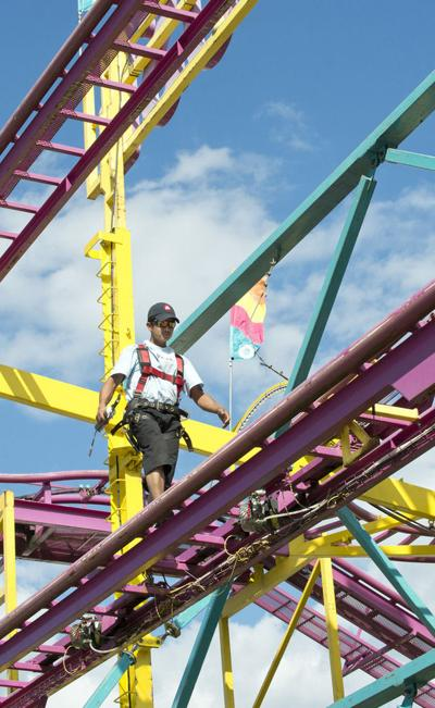 Fairground ride inspections show a handful of violations