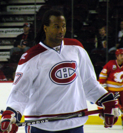 Hockey player Georges Laraque joins Green Party of Canada