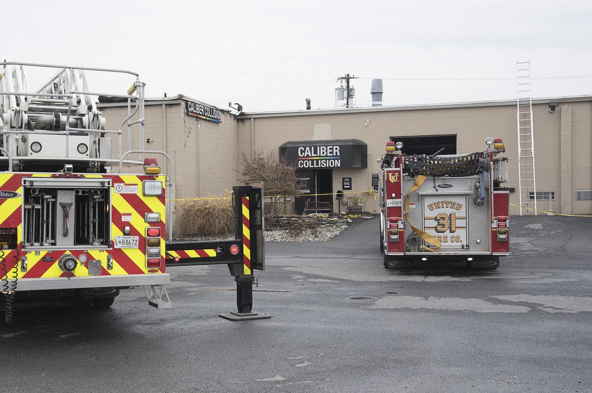 DG Highland St business fire 2