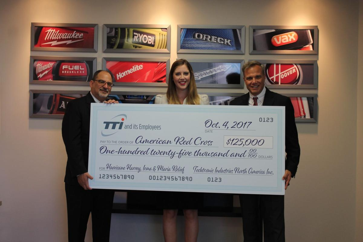 Techtronic Industries Co Ltd Donates 125K To American Red Cross