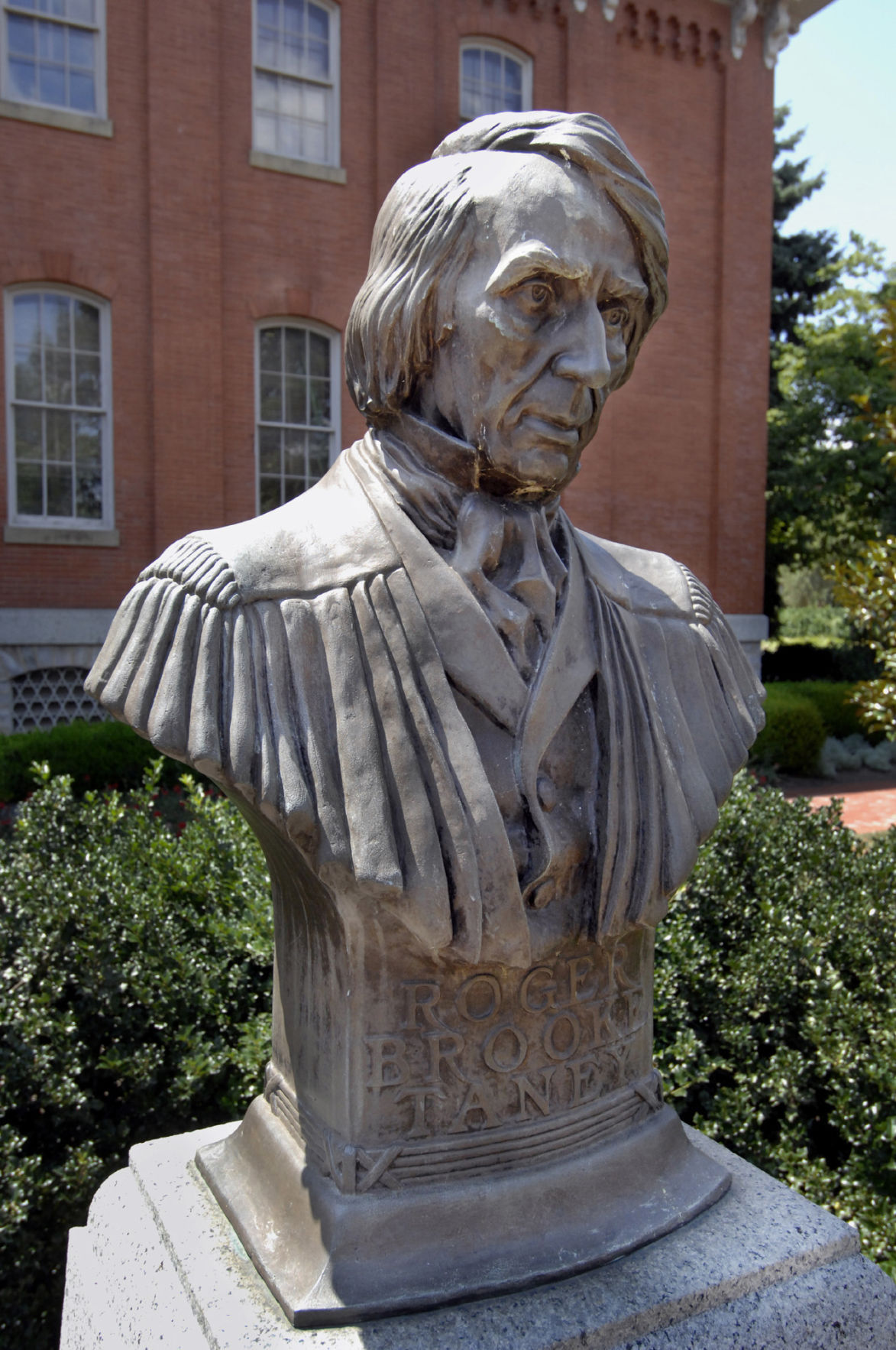 Taney statue