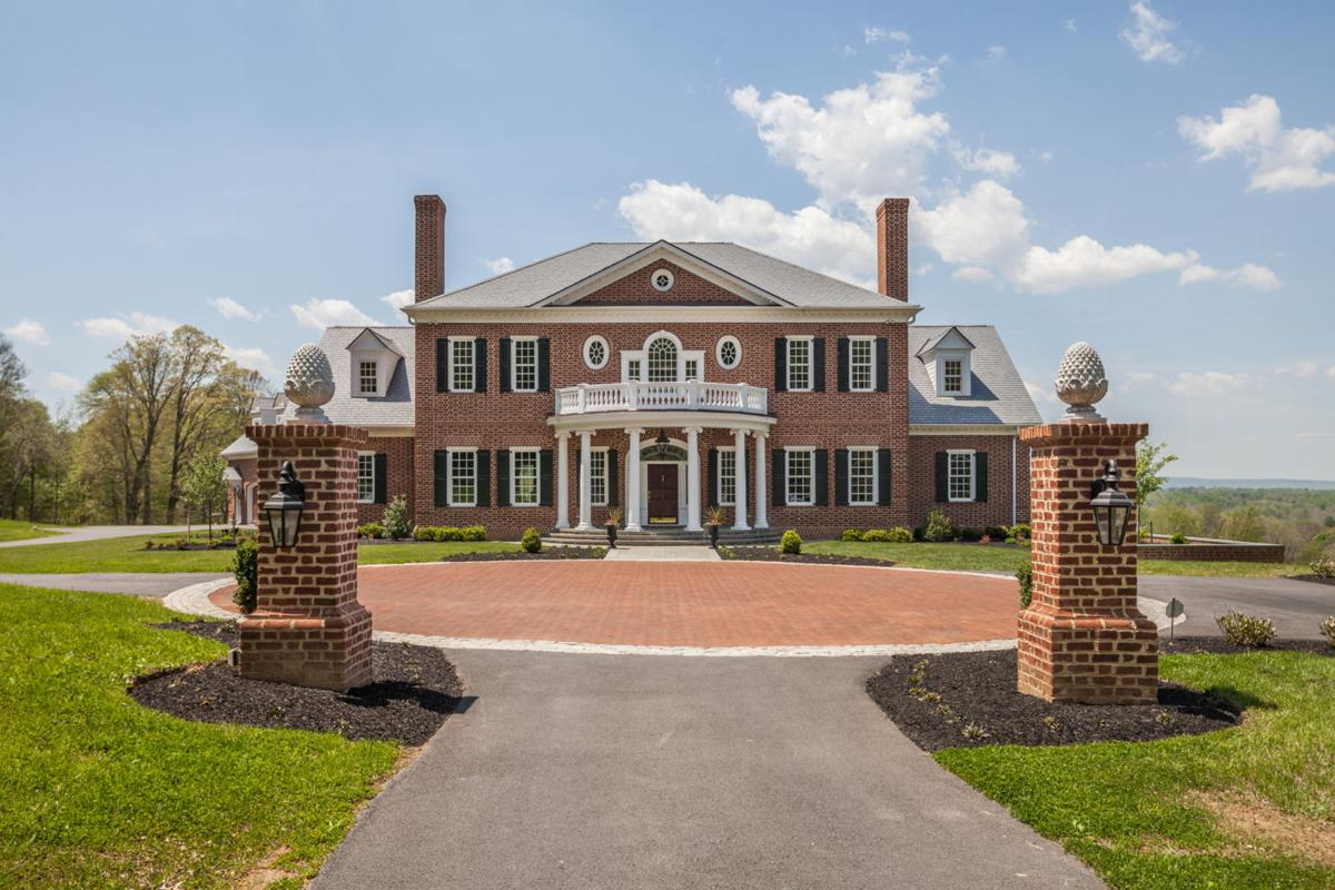 Georgian Colonial Mansion georgian colonial in frederick sells for $2.325 million | real