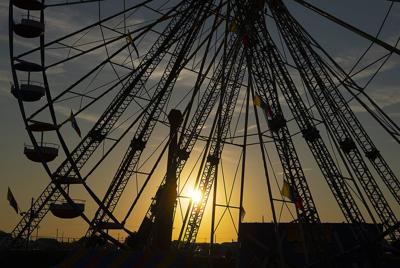 A behind-the-scenes look at The Great Frederick Fair before dawn