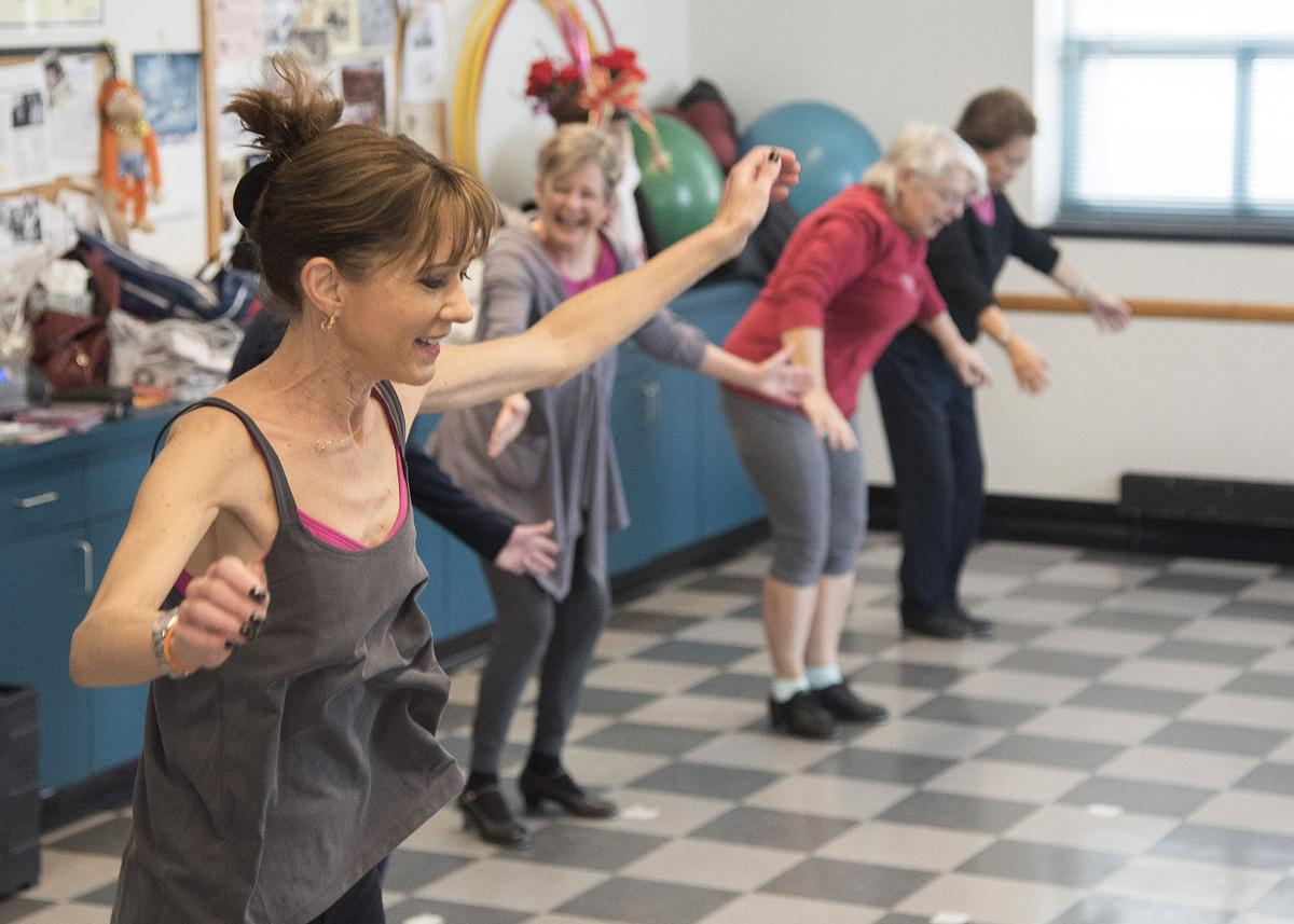 Tapping their way to health: Seniors tap dance for fun